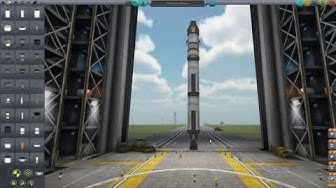 Kerbal Space Program German Tutorial 1 Raketen Start