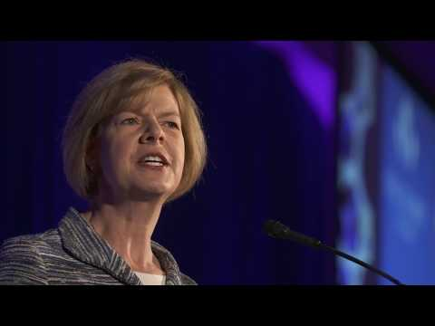 Senator Tammy Baldwin at Victory Fund National Champagne Brunch