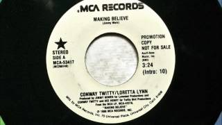 Making Believe ,  Loretta Lynn & Conway Twitty , 1988 YouTube Videos