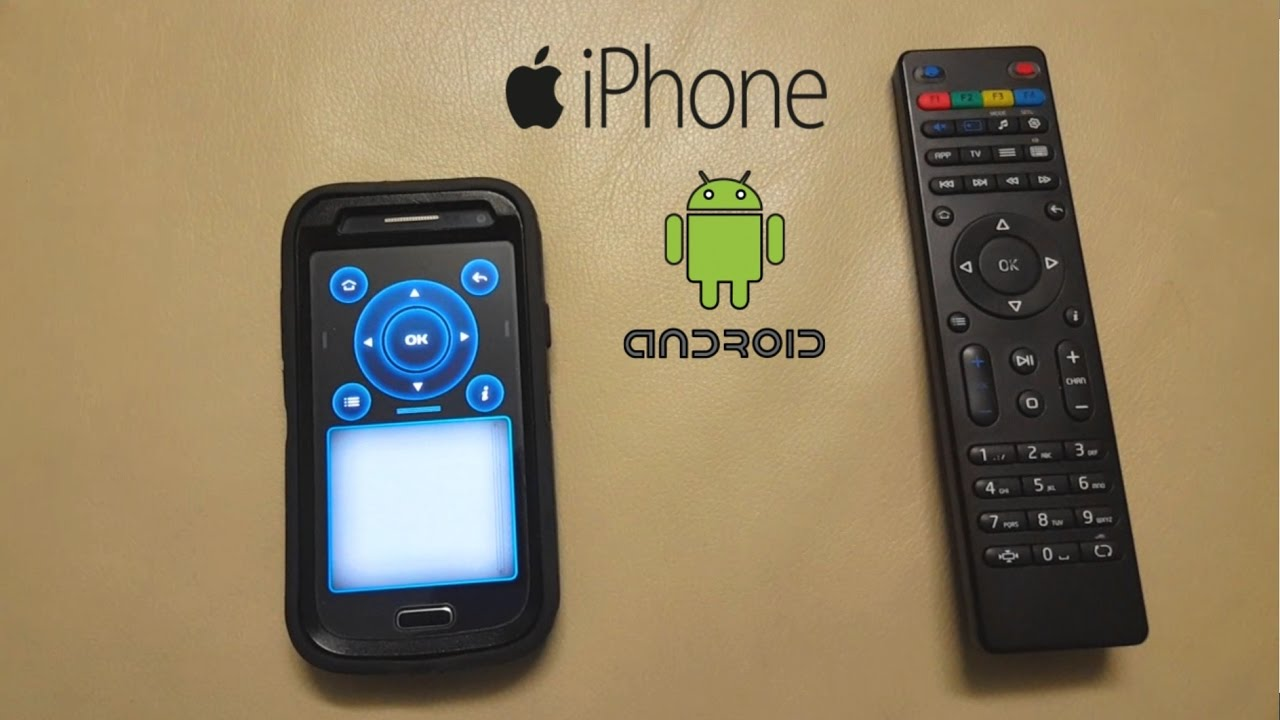 how to set up remote app on android or apple iphone for infomir mag254,  mag256, mag322 iptv box