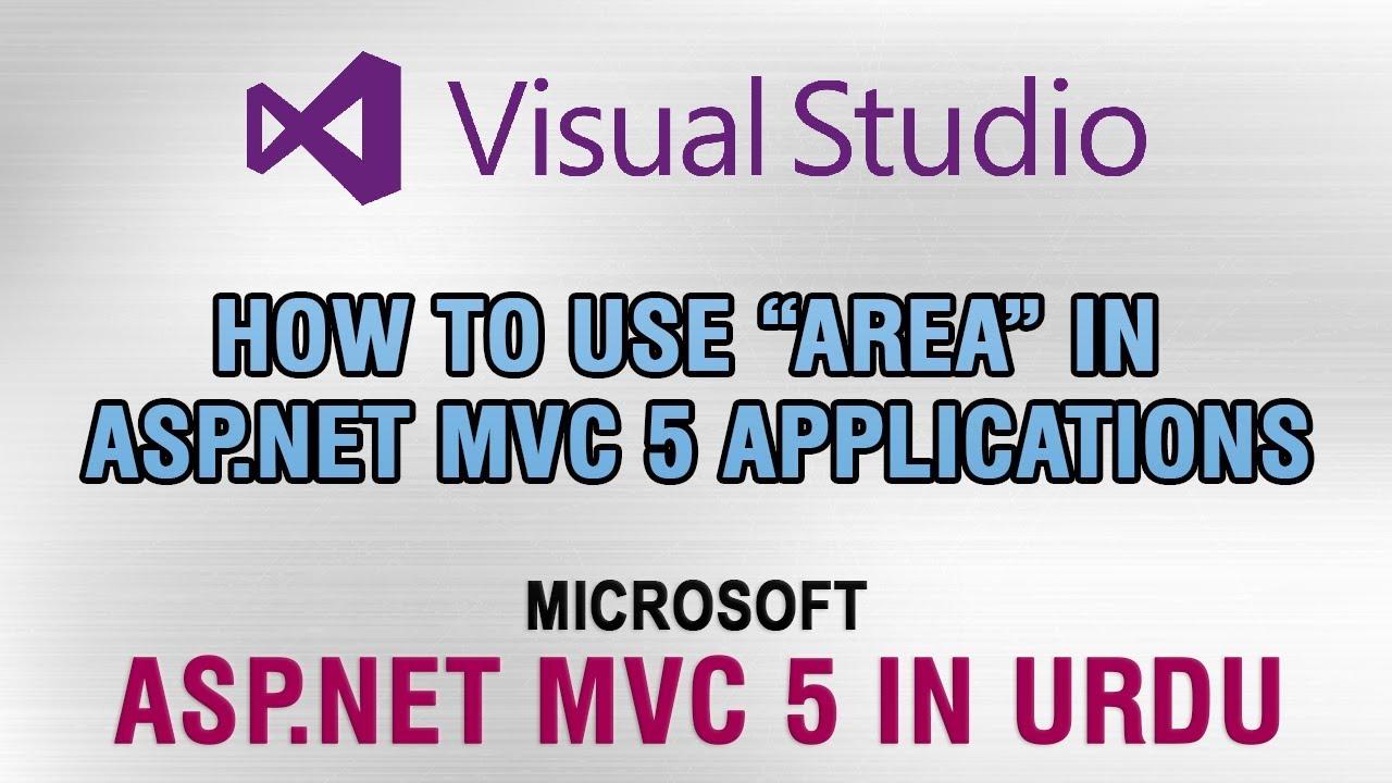 ASP NET MVC 5 Tutorial In Urdu - How to use
