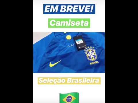 64822a4c75 Camisa da Seleção Brasileira II 2018 Nike - Masculina - YouTube