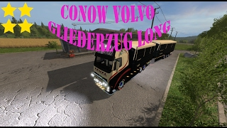 Link:https://www.modhoster.de/mods/conow-volvo-gliederzug-long#description http://www.modhub.us/farming-simulator-2017-mods/conow-volvo-articulated-long-v0-1/