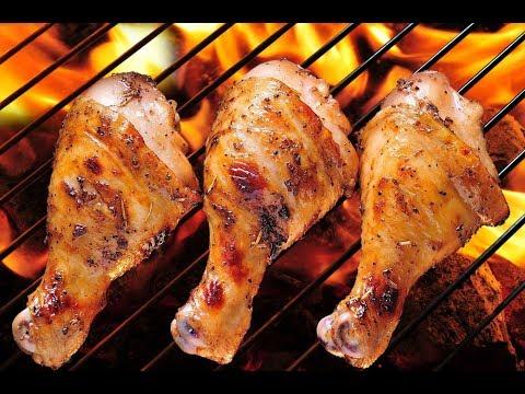 Шашлык, Куриные ножки на мангале, Простой  рецепт вкуснейшего мяса.