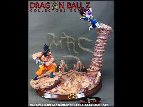 Kaioken Goku vs Vegeta Resin Statue-DBZCU X MRC EXCLUSIVE