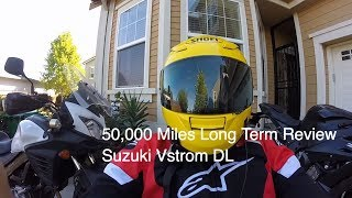 50,000 Miles Long Term Review - Suzuki QUALITY - Any Good ? Suzuki VSTROM 650