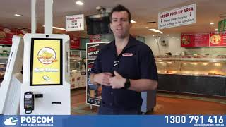 SwiftPOS Self Order Kiosks designed & Installed by POSCOM.