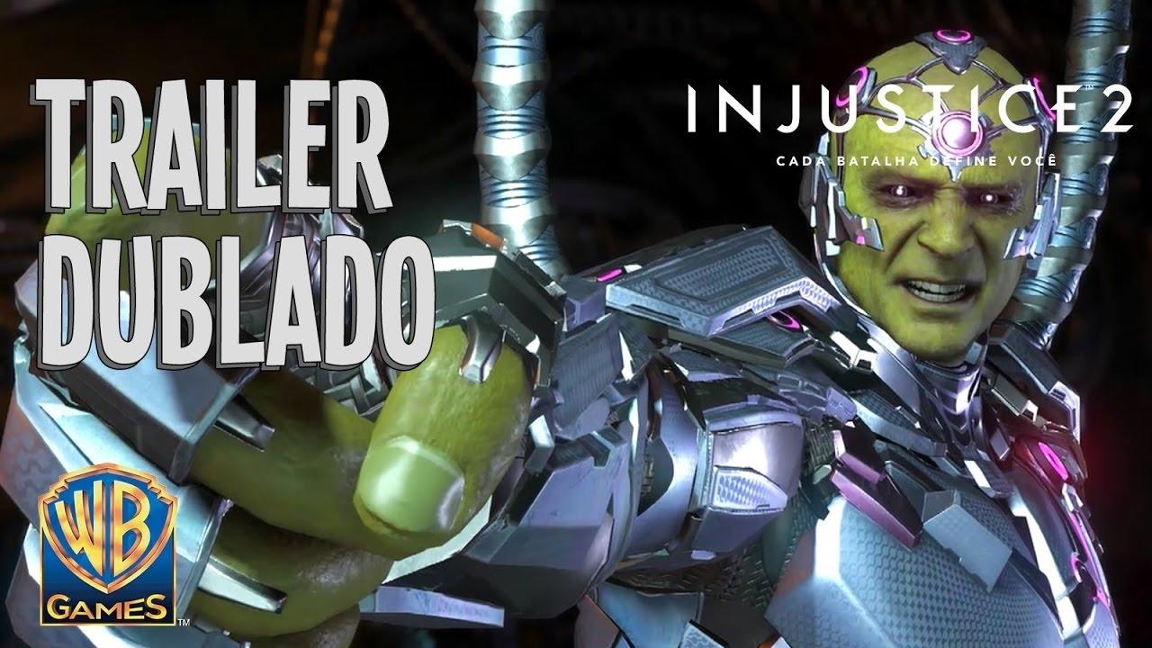 Injustice 2 - Trailer DUBLADO em Português do Brasil - Alianças Despedaçadas - Parte 5