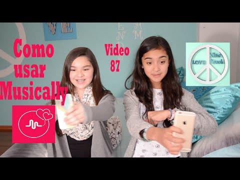 COMO USAR MUSICAL.LY Musically  Video 87 Xime Ponch