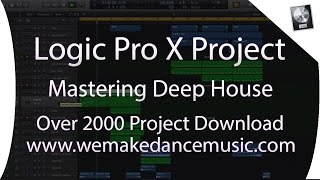 DEEP HOUSE TRACKS | Logic Pro X Template - Deep House - Waves Deep House by Mikas