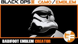 Black Ops 3 PaintShop Tutorial #021 - Star Wars Stormtrooper | Babifoot