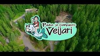 Puuhapuisto Veijari: kotieläinpiha, vuohet, isot linnut,eläintalo