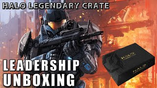 Unboxing - Halo Legendary Crate: Leadership