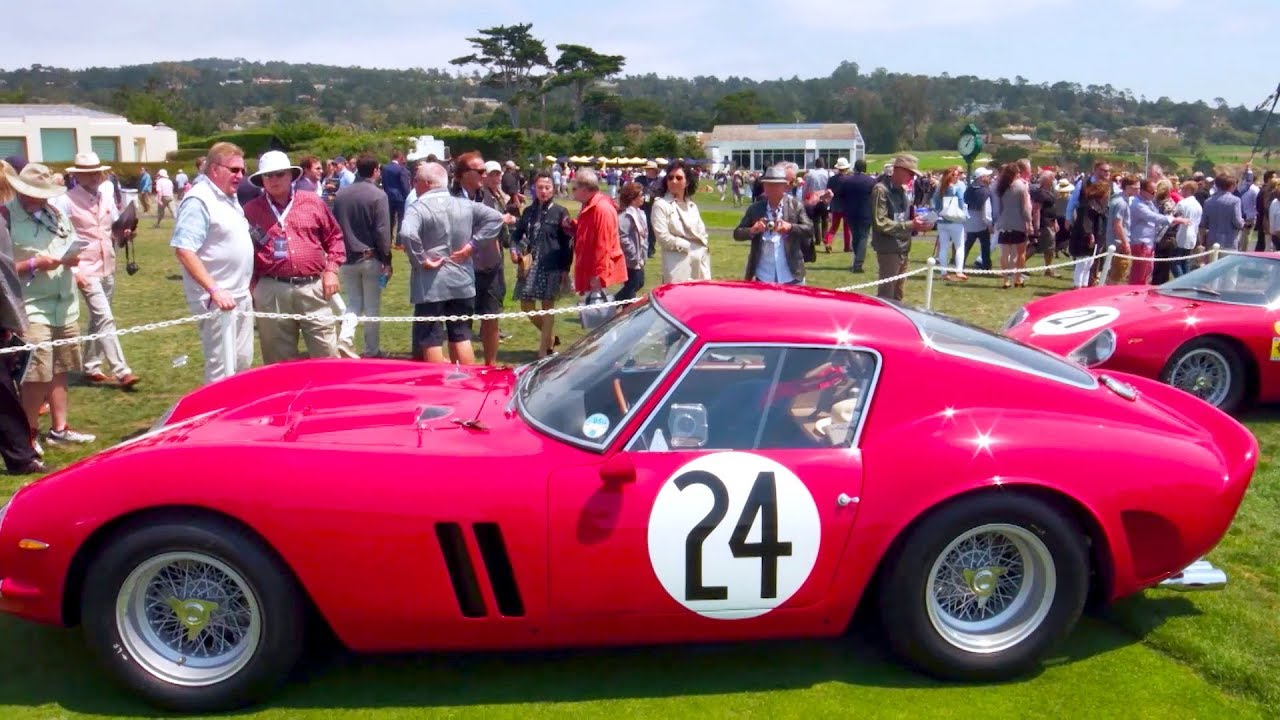 Pebble Beach Concours DElegance Retrospective Pebble - Pebble beach car show 2018
