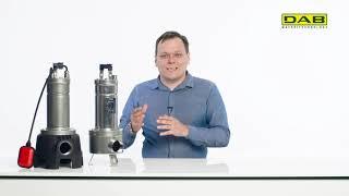 """DAB FEKA VX и VS """"неубиваемые"""" насосы. Обзор фекальных насосов для откачки сточных вод и фекалий."""