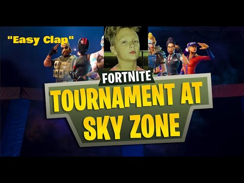 i got invited to a fortnite christmas skirmish sponcerd by sky zone - sky zone fortnite