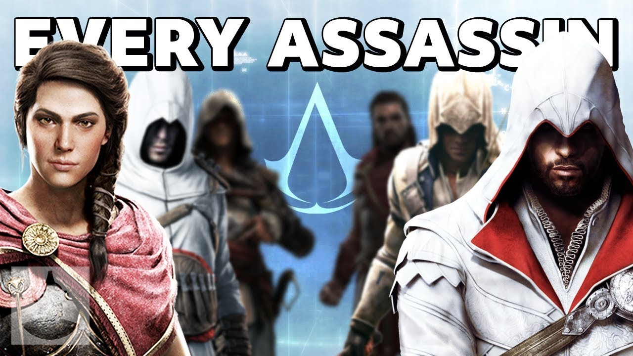 EVERY Assassin in Assassin's Creed in 12 minutes | The Leaderboard thumbnail