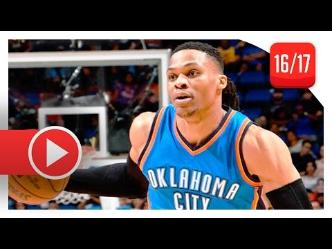 Russell Westbrook EPIC TD Highlights vs Magic (2017.03.29) - 57 Pts, 13 Reb, 11 Ast, INCREDIBLE!