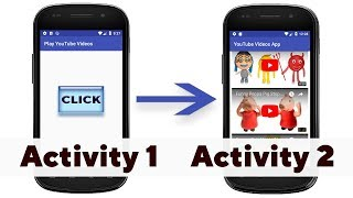 Play YouTube Videos in Second Activity on Button Click from Main Activity in Android Studio