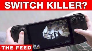 Valve announces Steam Deck, Nintendo Switch competitor