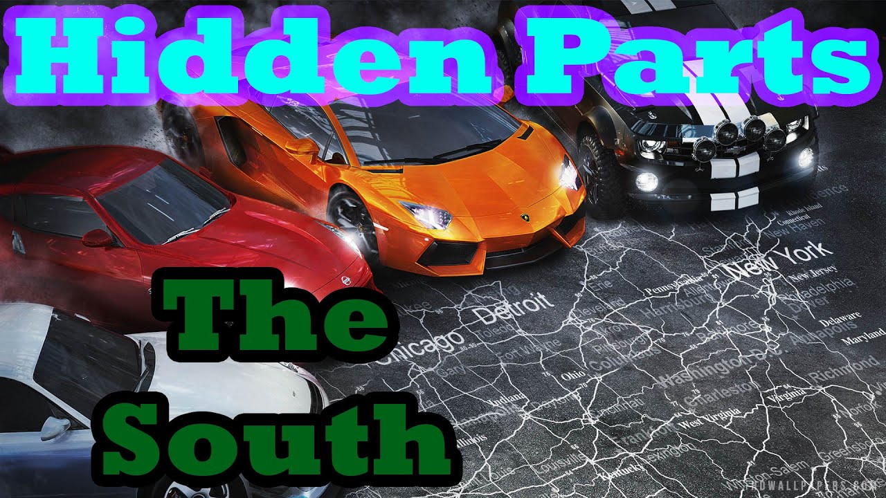 The Crew Hidden Car Parts South