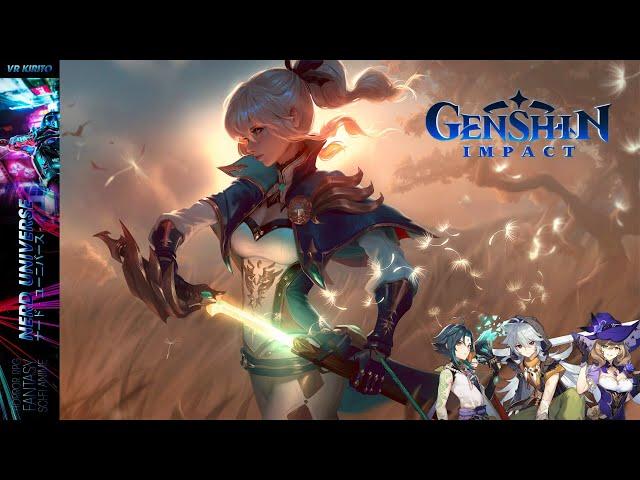 Genshin Impact - Windhosen reiten [PC]  Deutsch ☯ CBT Livestream
