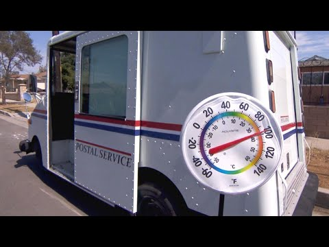 Here's How Hot It Is Inside A Mail Truck