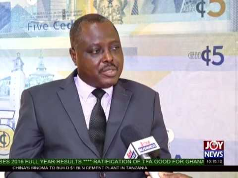 New 5 Cedi Note - The Market Place on Joy News (1-3-17)
