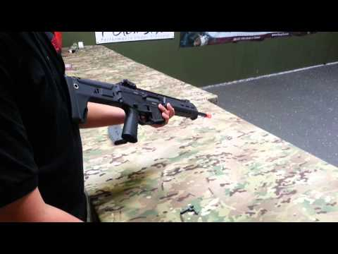 Airsoft GI Uncut - How to Disassemble/Reassemble the A&K Masada Magazine Catch