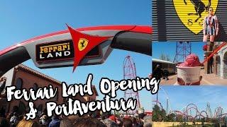 The Opening of Ferrari Land & PortAventura World Vlog! | Rachel Nicole
