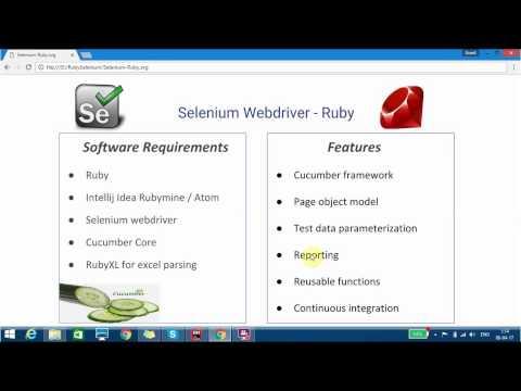 Seleniumwebdriver-Ruby-Cucumber