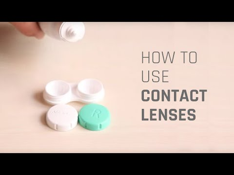 How to Wear Contact Lenses