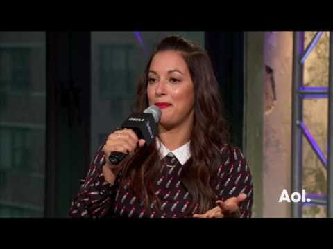 """Angelique Cabral Discusses Her CBS Show, """"Life In Pieces"""" 