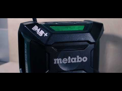 Metabo Akku-Baustellenradio R 12-18 DAB+ BT / Cordless Worksite Radio