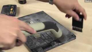 Jak vyčistit notebook