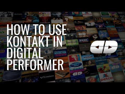 How to Use Kontakt in Digital Performer