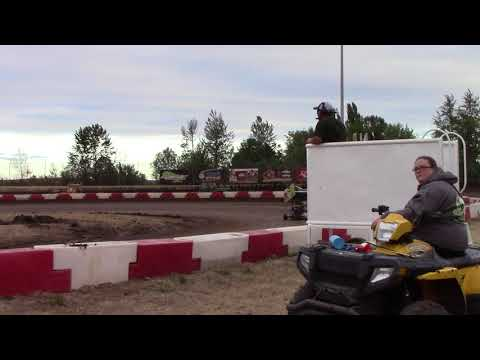 Willamette Speedway, OR - Caged Frenzy - 125cc Cage-Kart Hot Laps - September 9, 2017