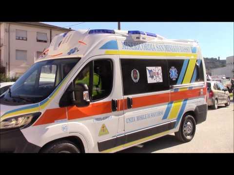 Inaugurazione Nuova Ambulanza Misericordia San Miniato Basso