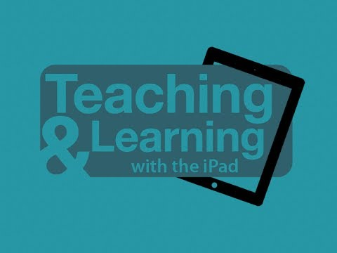 Teaching and Learning with the iPad Conference: Open Educational Resources
