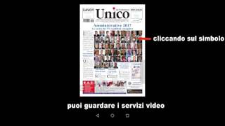 Unico App - istruzioni per l'uso