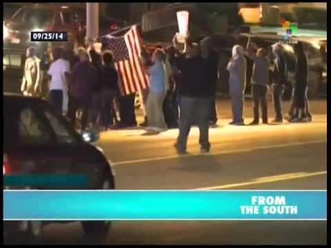 Renewed protests flare in Ferguson, Miccouri