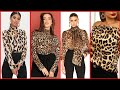 Gambar cover Modern Leopard Print Tops - Stylish Tiger Print Blouse | Cheeta Print Shirts Smart Collection 2020