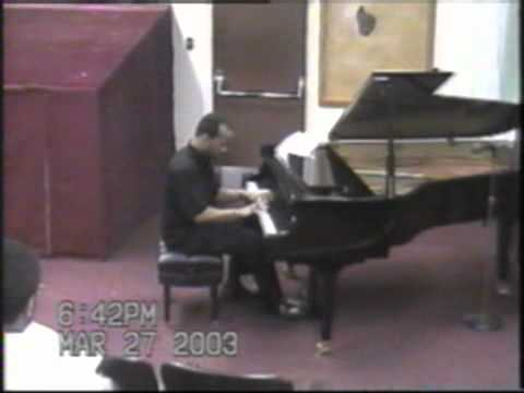 Tocatta-Aram Khachaturian Performed By Terence Fisher At Grambling State University