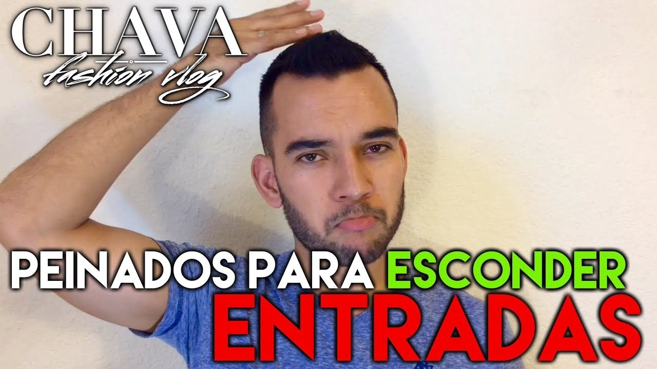 Peinados Para Esconder Las Entradas Youtube