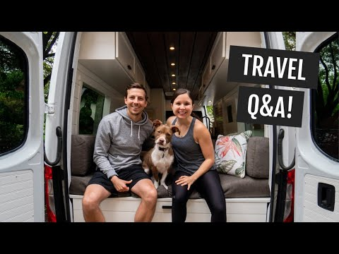 Travel Q&A: How We Plan Trips, Traveling With A Dog, Saving Money, Staying Fit, & More!