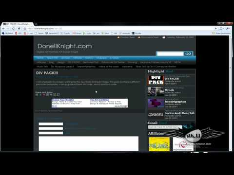 DIV Overlay Myspace Layouts Easy To Follow Guide