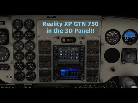 Repeat RealityXP GTN750 on Android Tablet using Spacedesk by Jon Fly