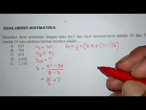 tutorial-menghitung-jumlah-dari-n-suku-pada-deret-aritmatika-(2)---matematika-smp-dan-sma