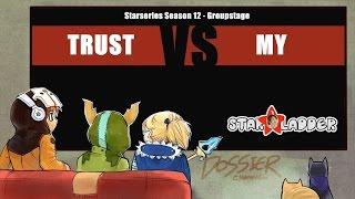 [ Dota2 ] Signature.Trust vs Malaysia - Starseries Season 12 - Thai Caster