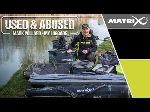 *** Coarse & Match Fishing TV *** Used & Abused Tackle Review - Mark Pollard's Luggage